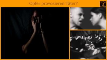Häusliche Gewalt - Aufklärung über Opfer
