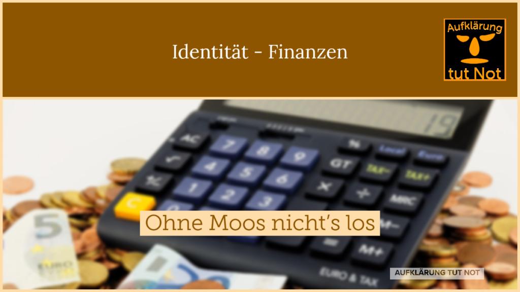 Finanzen - Identitätsmodell