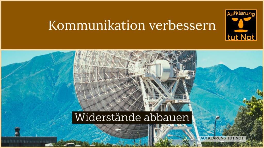 Kommunikation verbessern