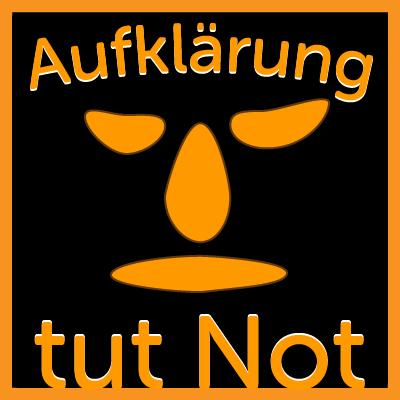 Logo Aufklärung tut Not