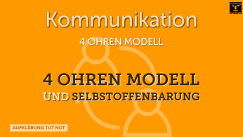 4 Ohren Modell und Selbstoffenbarung