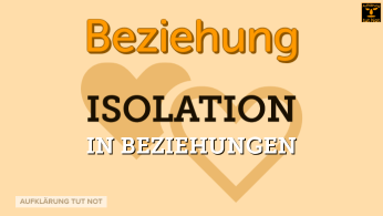 Isolation in Beziehungen