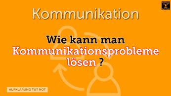 Wie kann man Kommunikationsprobleme lösen